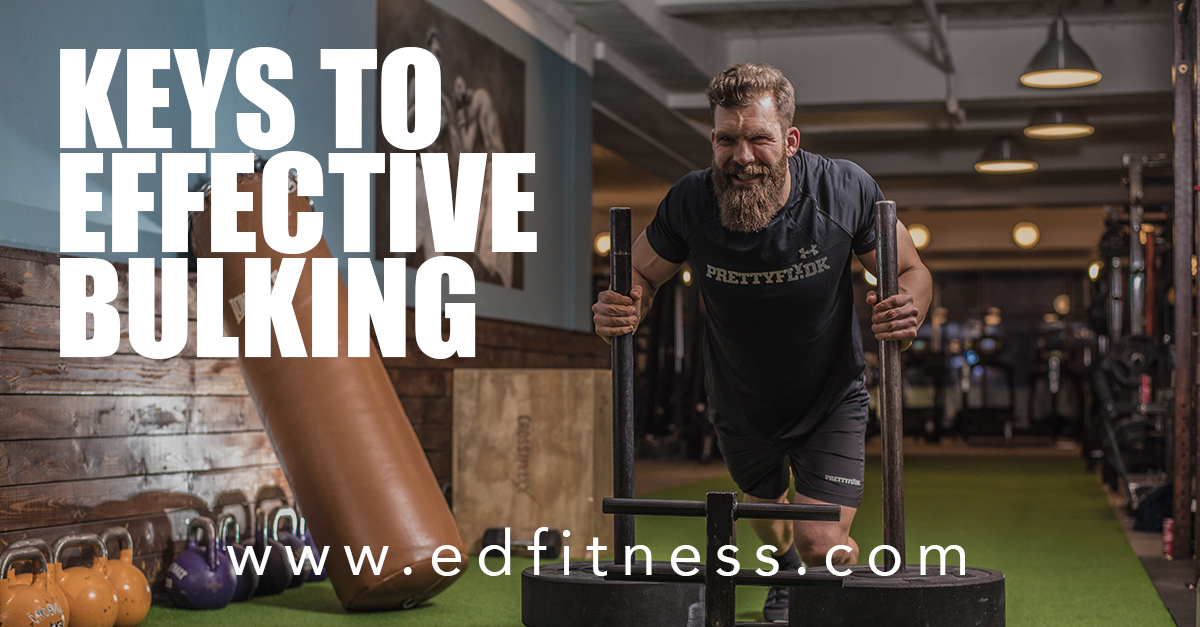 EveryDay Fitness Gym Club in Redding CA Keys to Effective Bulking