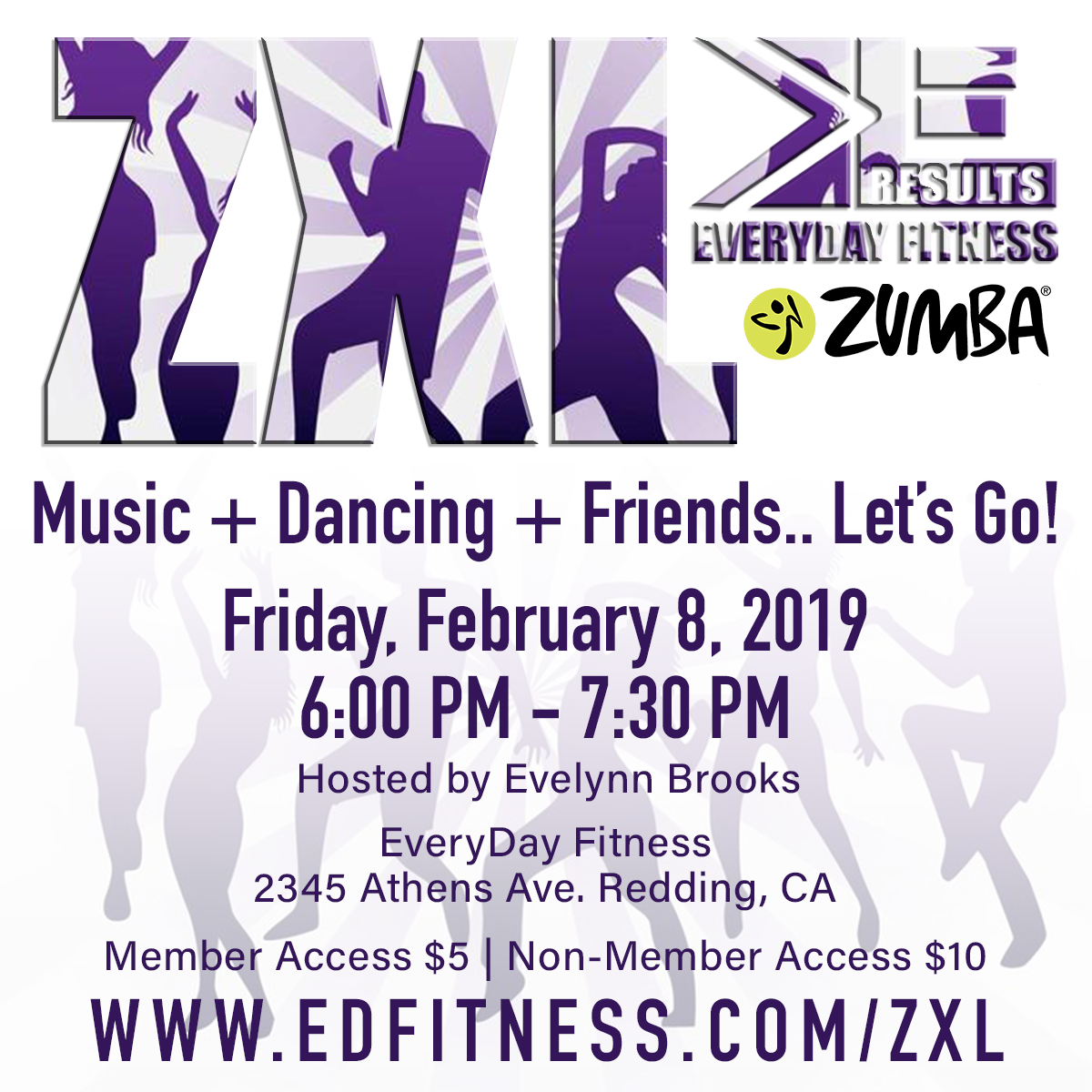 Zumba XL EveryDay Fitness Redding CA.png