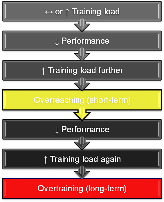 The cycle of overtraining