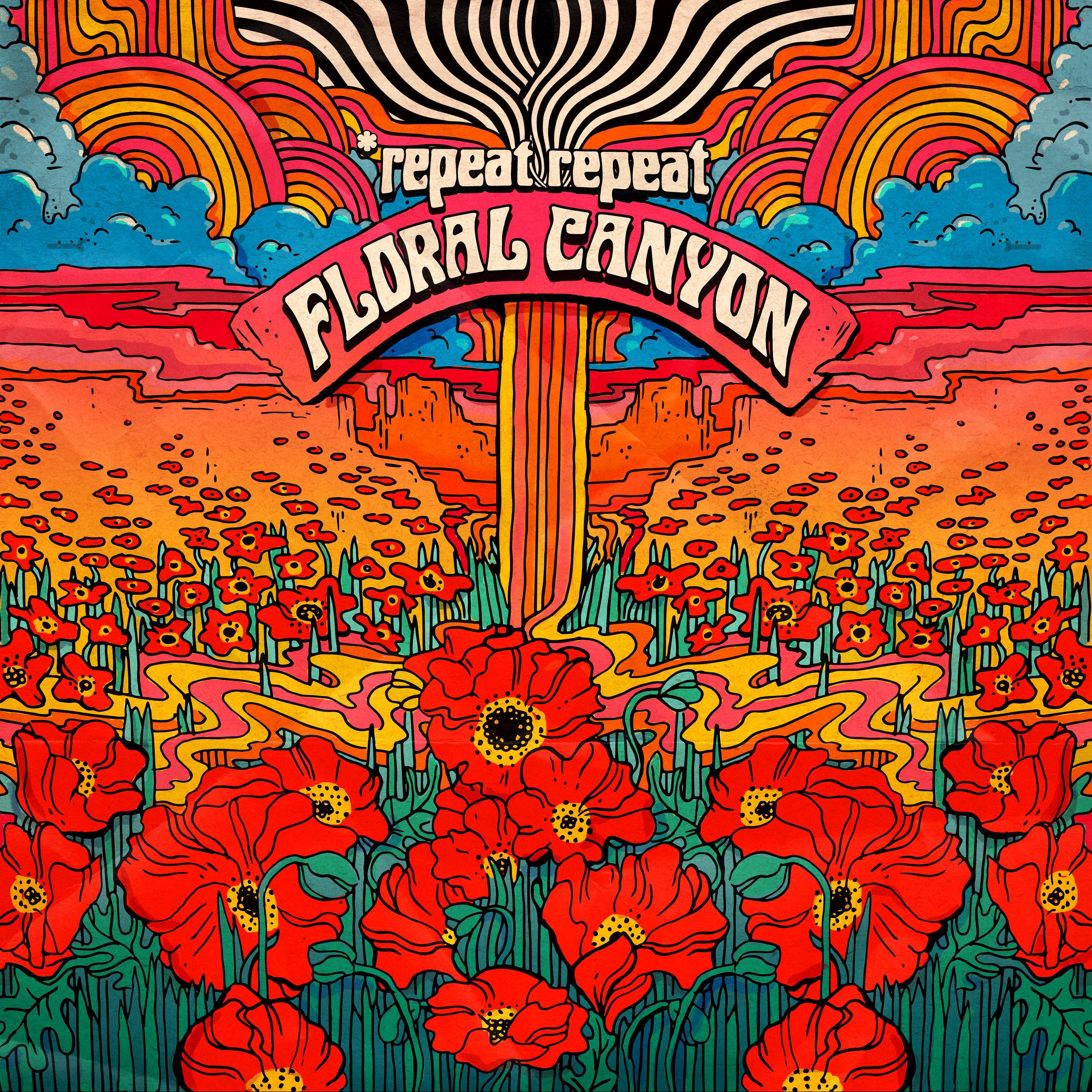 Floral Canyon released on major digital retailers - Snag the sophomore album online