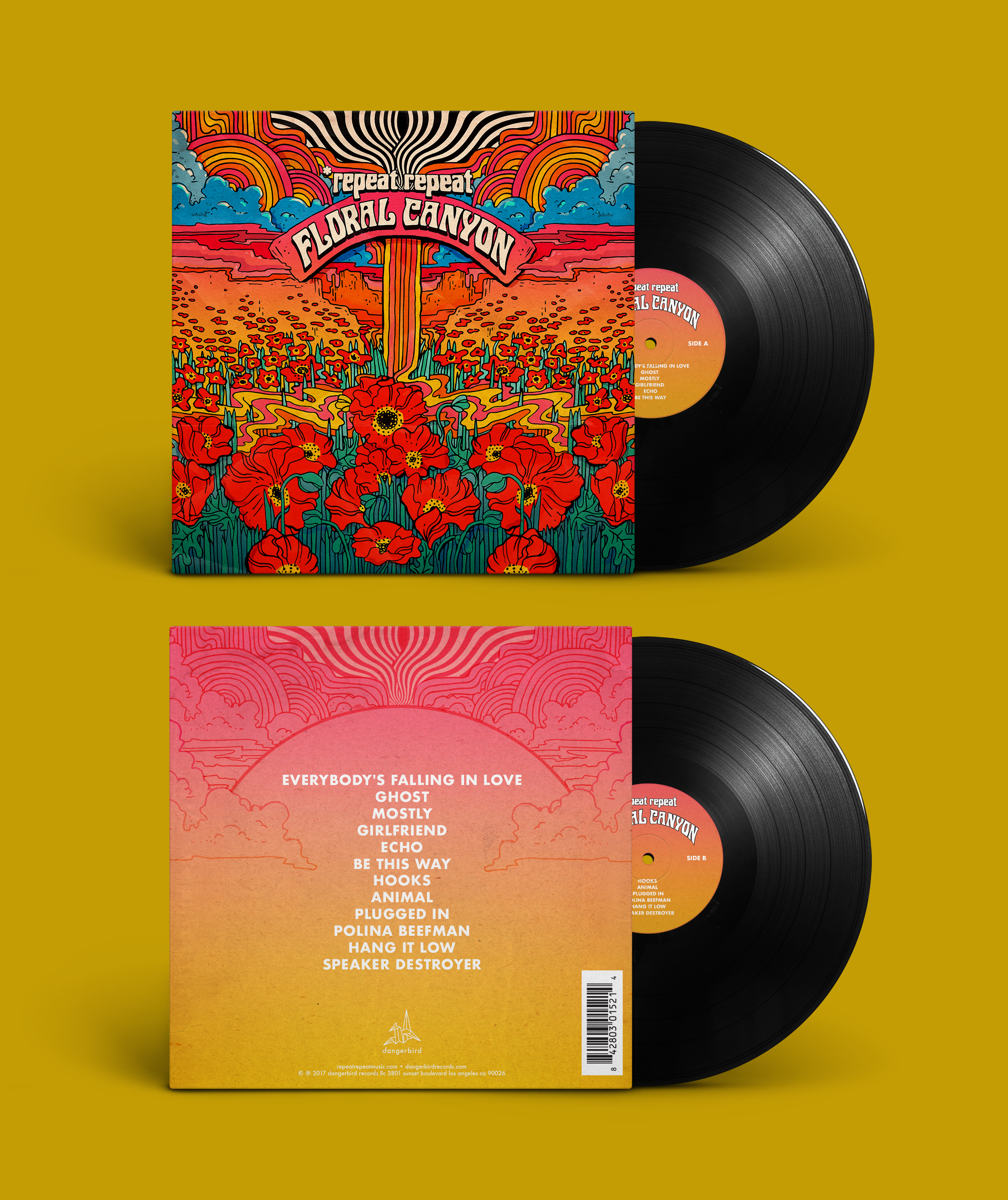 Floral Canyon - Vinyl, CD, Shirts, and more!