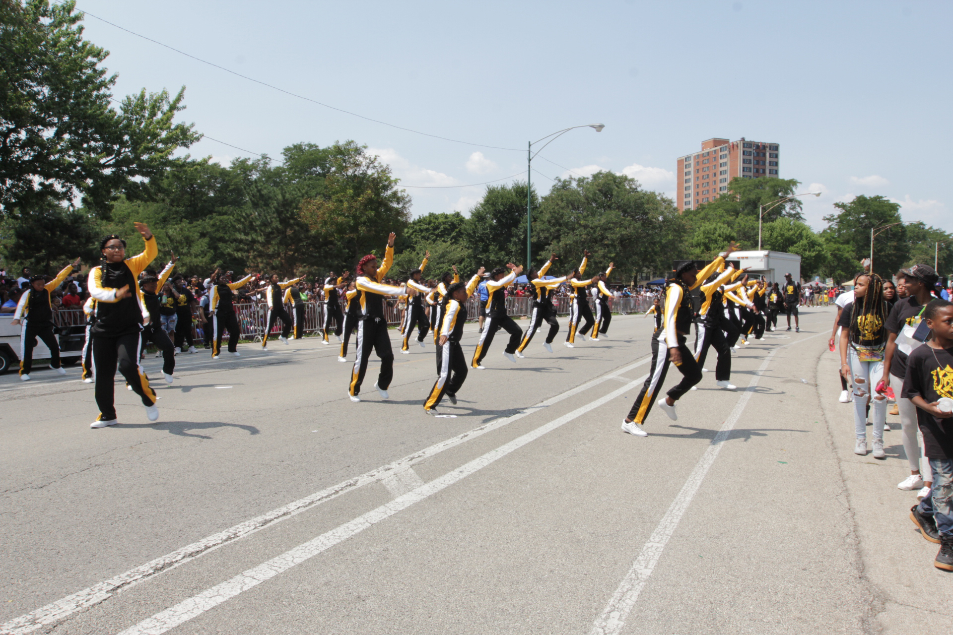 Golden Kight Drill Team, Photo By Stanley Muhammad.jpg