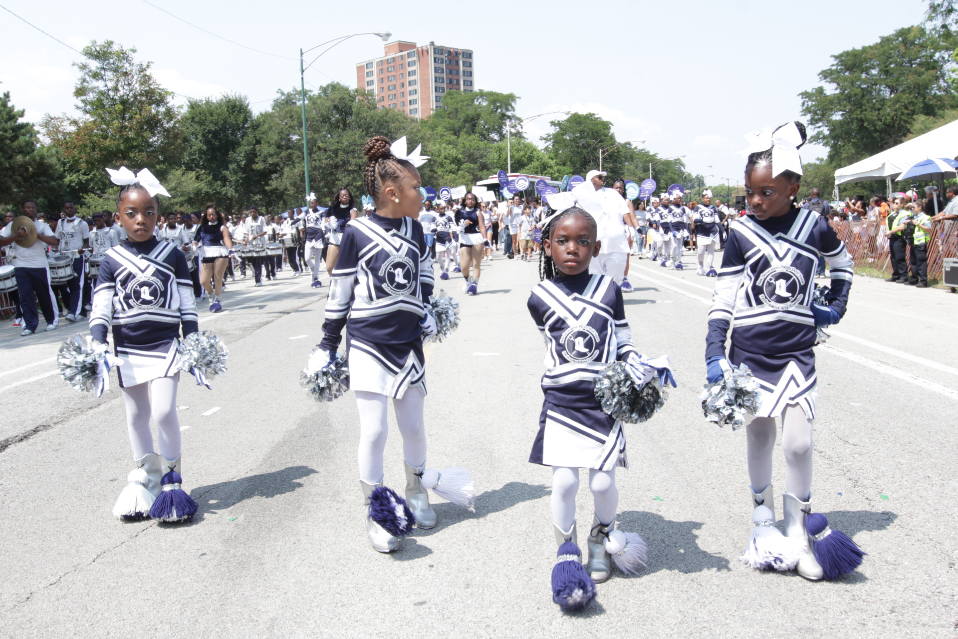 New Generation Fancy Drill Team, Photo By Stanley Muhammad.jpg