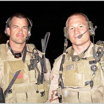 "Jocko Willink (left) and Leif Babin, authors of ""Extreme Ownership."""
