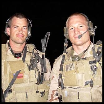 Authors Jocko Willink and Leif Babin.