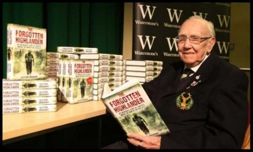 "Alistair Urquhart, author of ""The Forgotten Highlander."""
