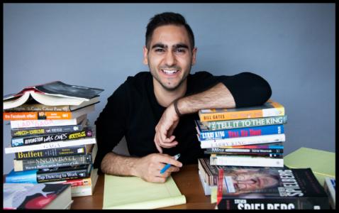 """Alex Banayan, author of """"The Third Door."""""""