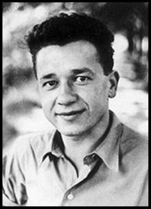 Author Tadeusz Borowski.