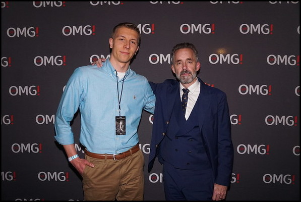 Incredibly humbled to have met the one and only Jordan Peterson.