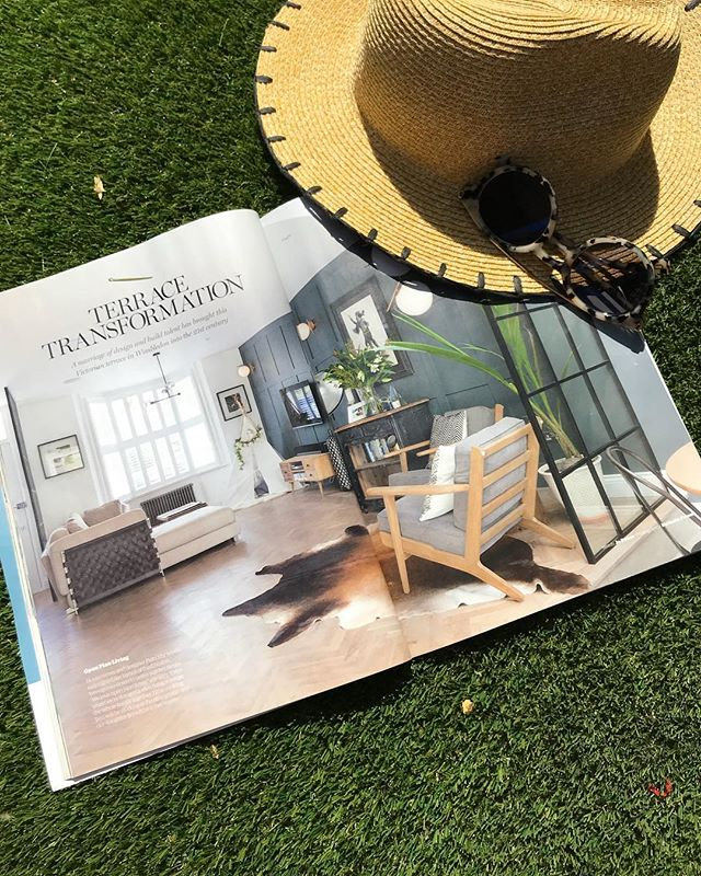 I hope you've all enjoyed the sunny weather this weekend. I'm catching the last of the rays and reading our latest feature in @myhomebuilding. Great editorial @miss_jo_dyson!  Read the full article by clicking on the magazine image on our press page - link in bio ☝️