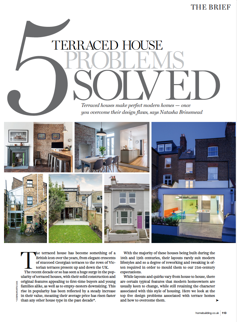 HOME BUILDING & RENOVATING MAGAZINE  We share some tips on how to get the most out of your terraced property.