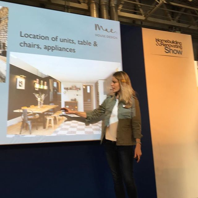 Our partner @miss_jo_dyson is back with the Homebuilding & Renovating team presenting at the NEC home show. On for 2 more days...If you fancy going for some home inspo and help link to free tickets in our bio ☝🏻#sorealhomes #homebuildingandrenovating #hushhomewear