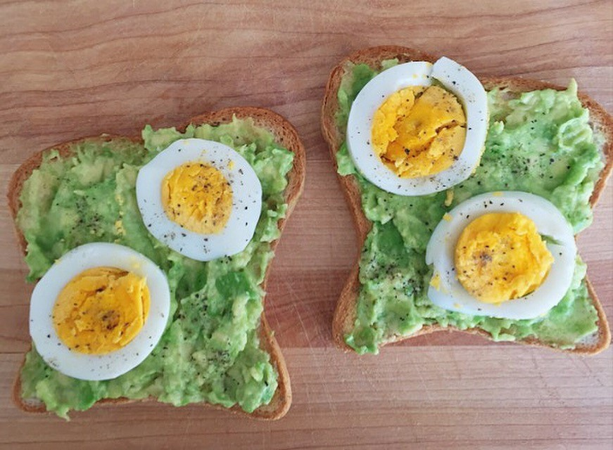 Copy of Avocado Toast & Eggs