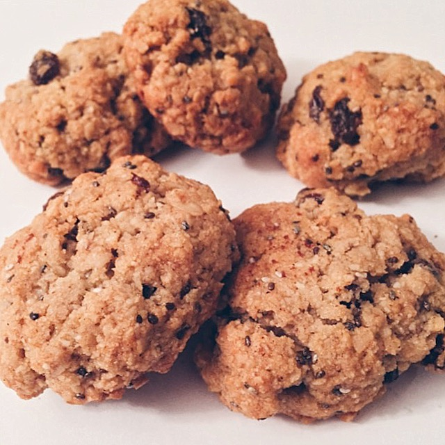 Copy of Cinnamon Oatmeal Raisin Cookies