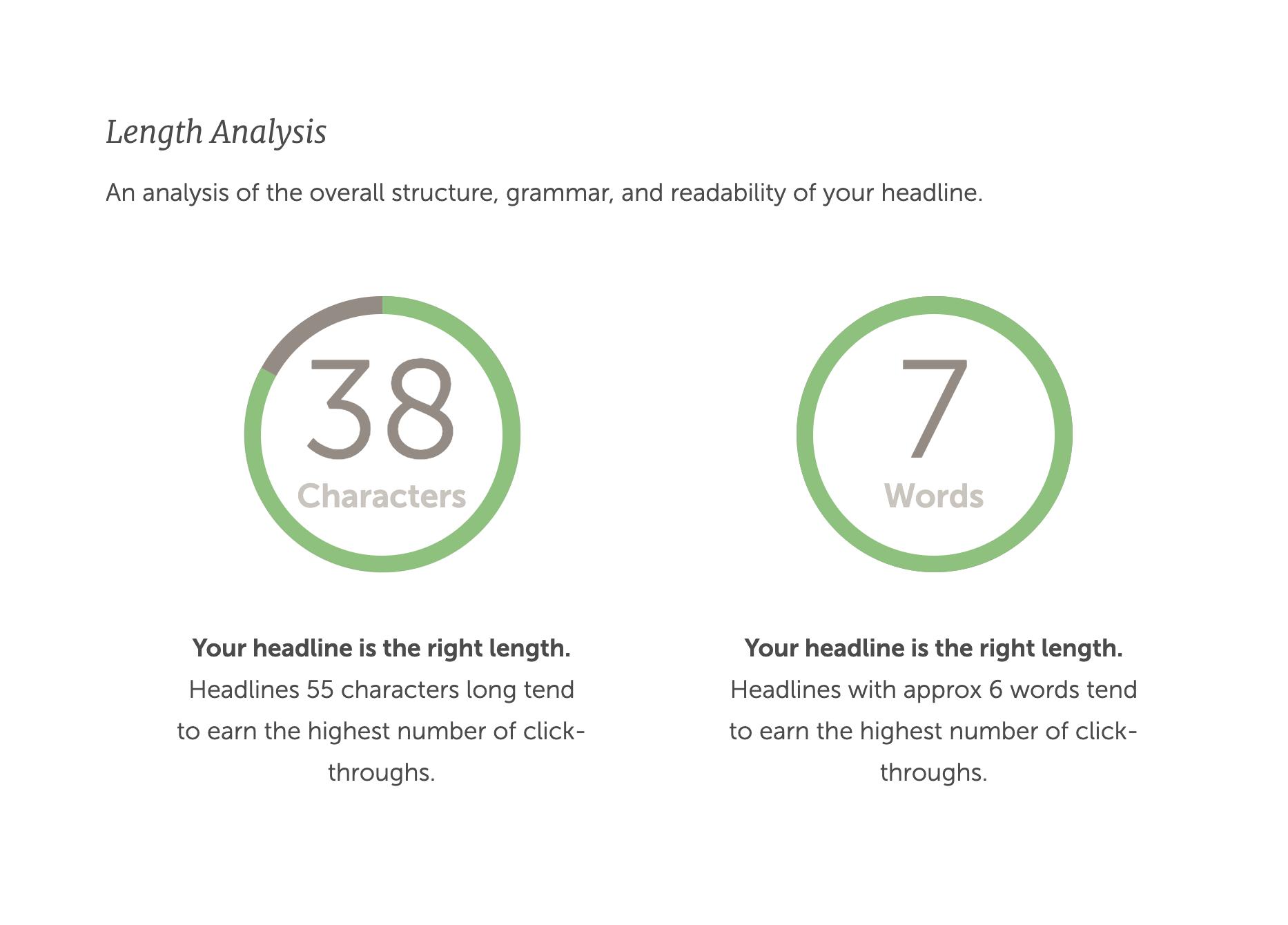 CoSchedule's Free Headline Analyzer Tool