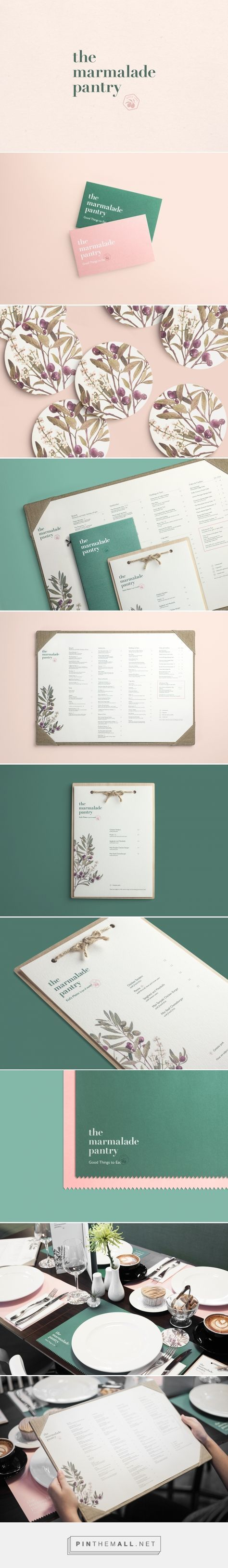 via Behance - The Marmalade Pantry