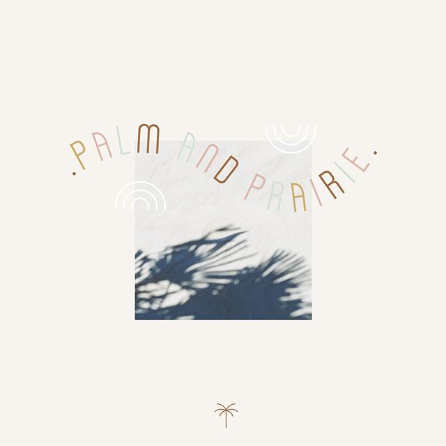 Recent launch 👉🏻Palm and Prairie! This is a new brand, home to the talented Sarah Urbanczyk. Palm made artisanal goods to inspire a California lifestyle in yyc. Loved working on this brand, it's retro, fun, boho and modern. @palmandprairie  -  #design #branding #logo #art #creative #typography #graphicdesigner #designinspiration #inspiration #marketing #logoinspirations #logosai #swellyyc #yyc #designstudio #minimal #modern #brandstylist #studio #graphicdesign #logodesign #designer #illustrator #brandidentity #palmandprairie