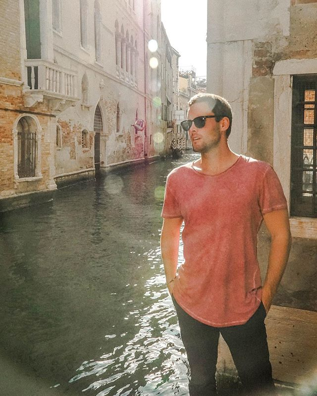 On the canals in Venice ❤️