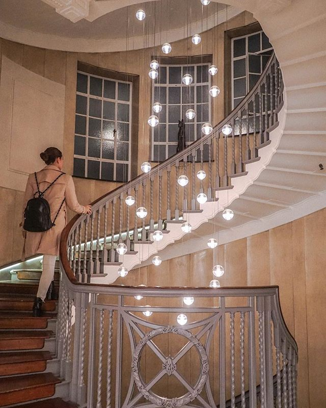 Stunning spiral staircases in London! We love finding hidden treasure like this!