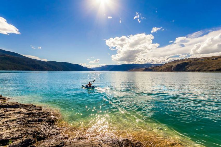 Kalamalka Lake Kayak