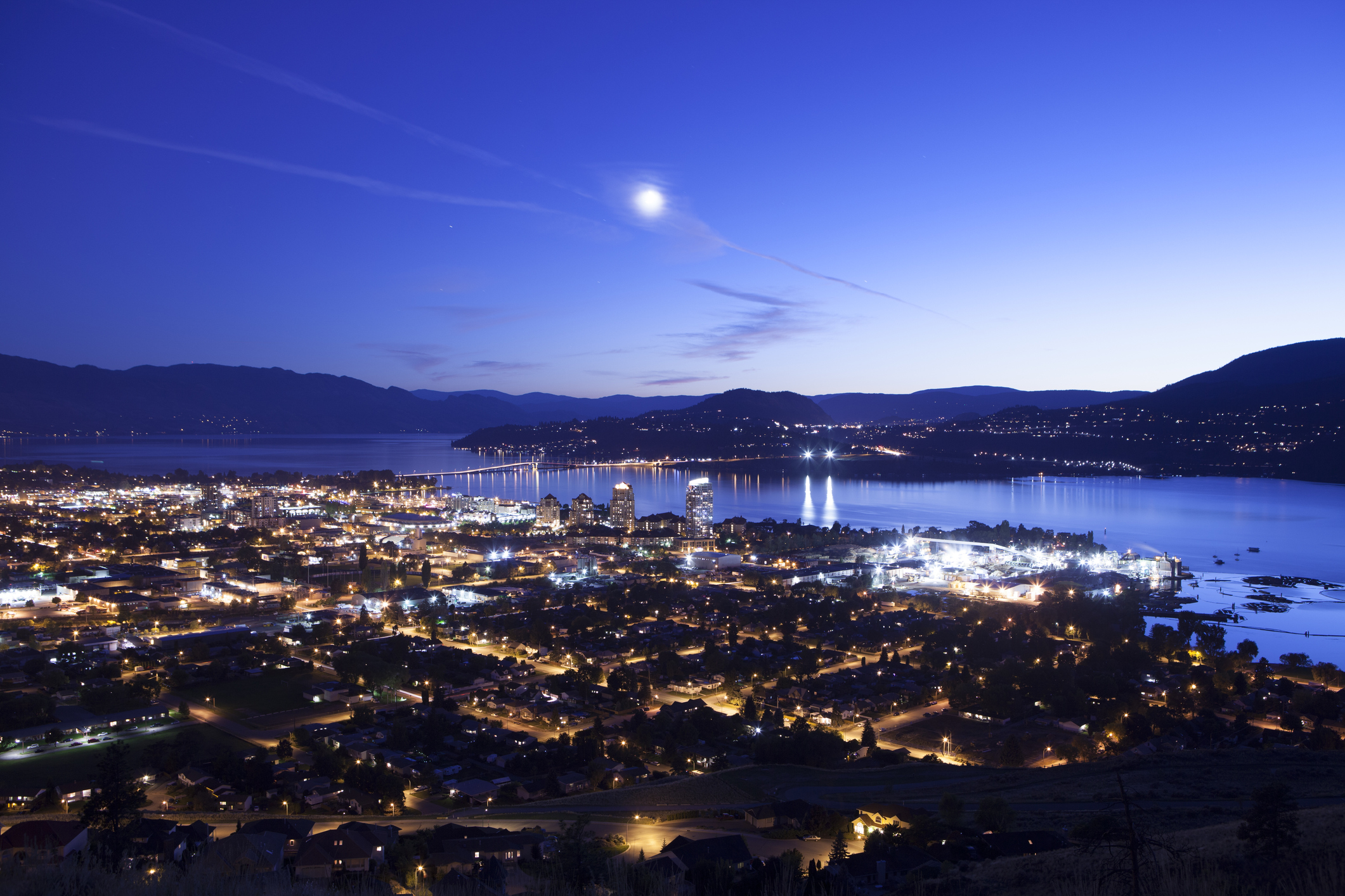 Downtown Kelowna Night