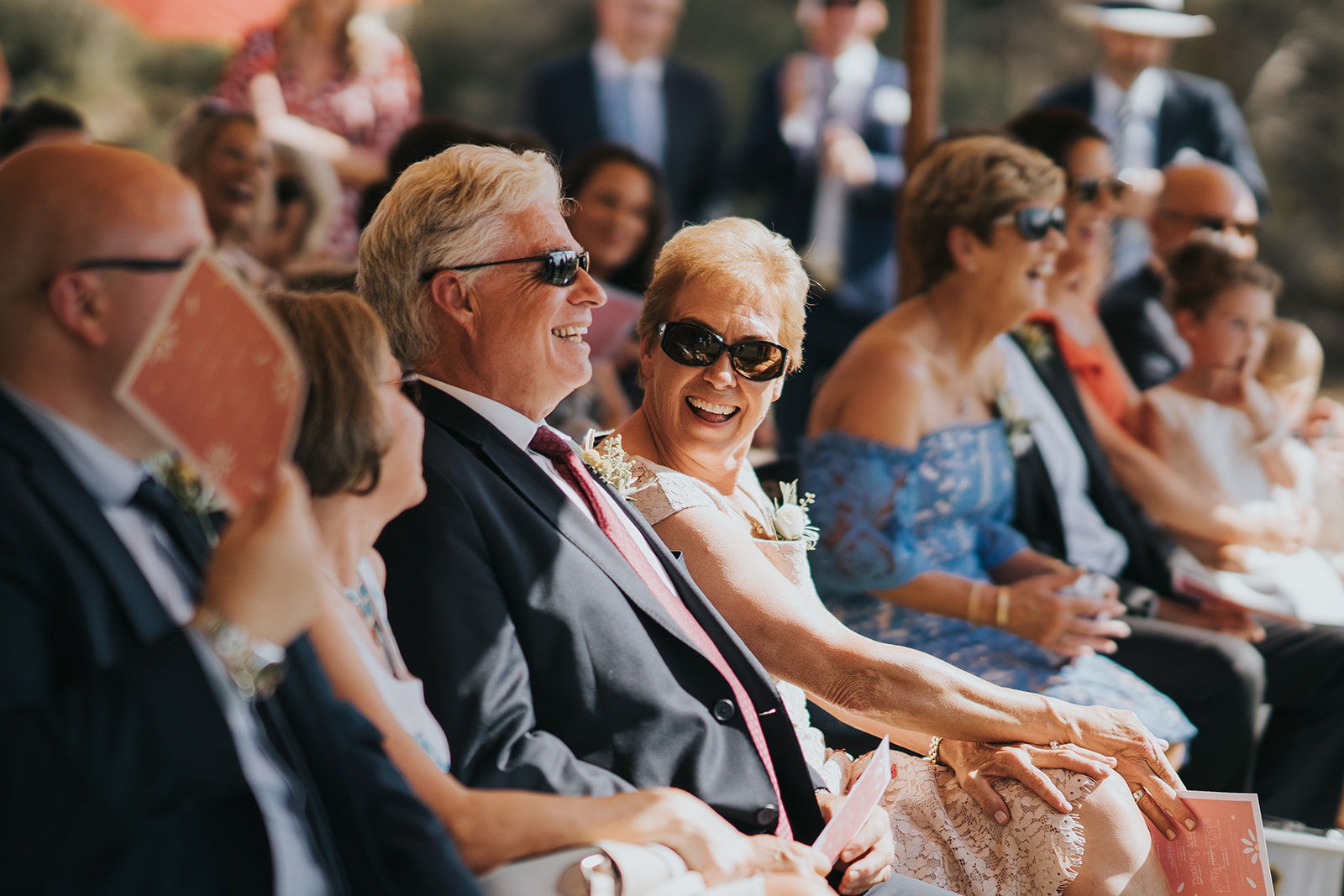 Guests engaged and enjoying the ceremony.   Photography from    Silas Chau    Photography