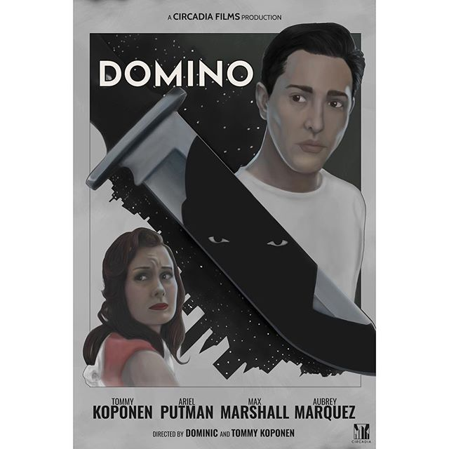 🎬 DOMINO🎬 . . . We are really excited to be near completion on post production for our 1950's style film.  Film festival announcements will be COMING SOON! 🎬  HUGE THANKS to our Cast and Crew: @dkoponen @tkoponen @brainsmash @ariel_putman @aubrey_marquez @maxwmarshall @jaycim87 @tmkoponen @parkerreininga @josiahwalker_