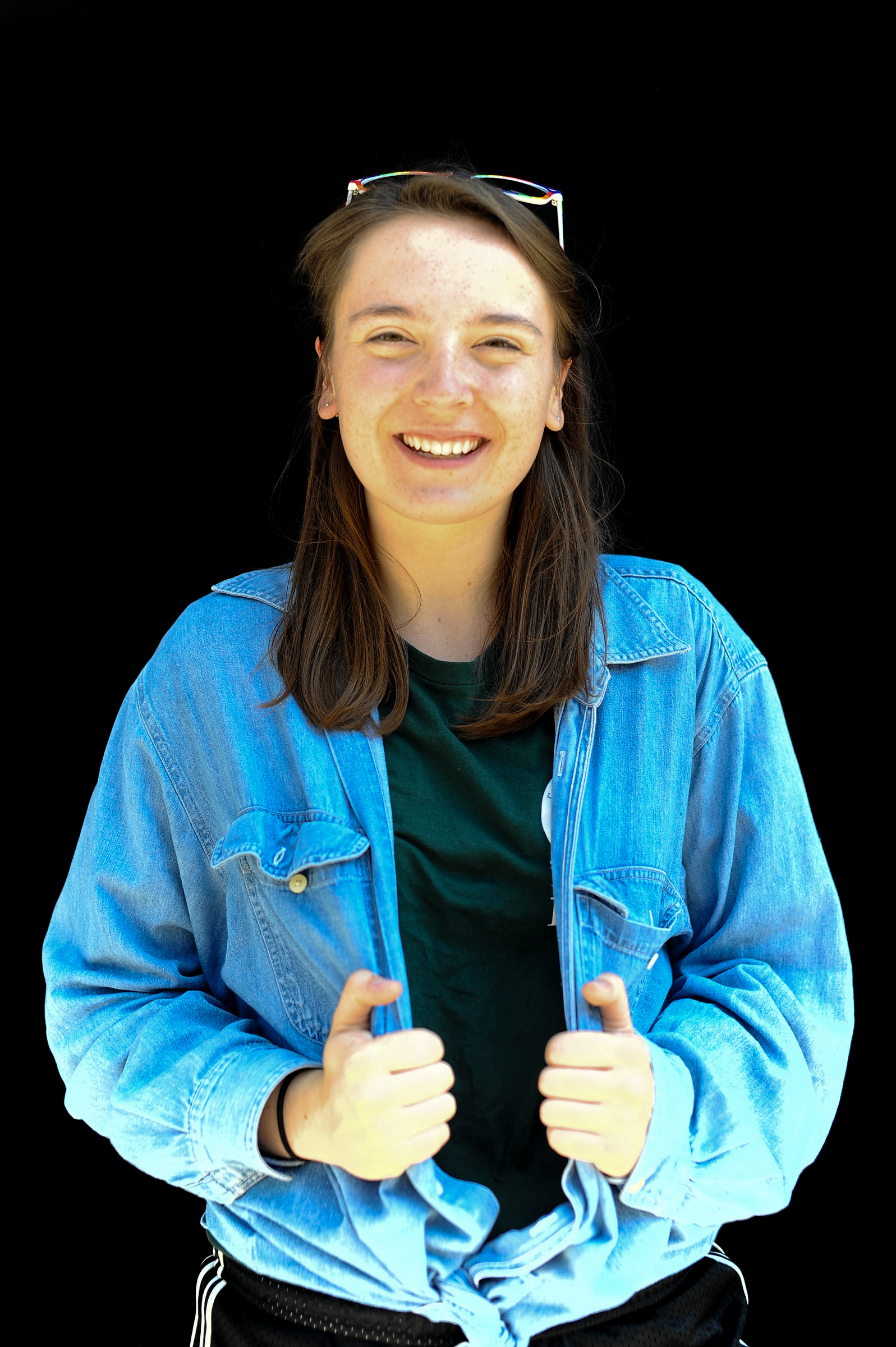 Name: Rosalie RossClass Year: 2019Major: Computer ScienceHometown: Ithaca, NYActivities: JUSA, Cornell Podcast Club, Cornell Figure Skating Club, Spark Design TeamIf you could make up a major, what would it be?: Pun writingWhy would you be on the front page of The Cornell Daily Sun?: In response to prelim season student adopts every pet at local animal shelterBlurb: Everyone underestimates the brightness of clouds