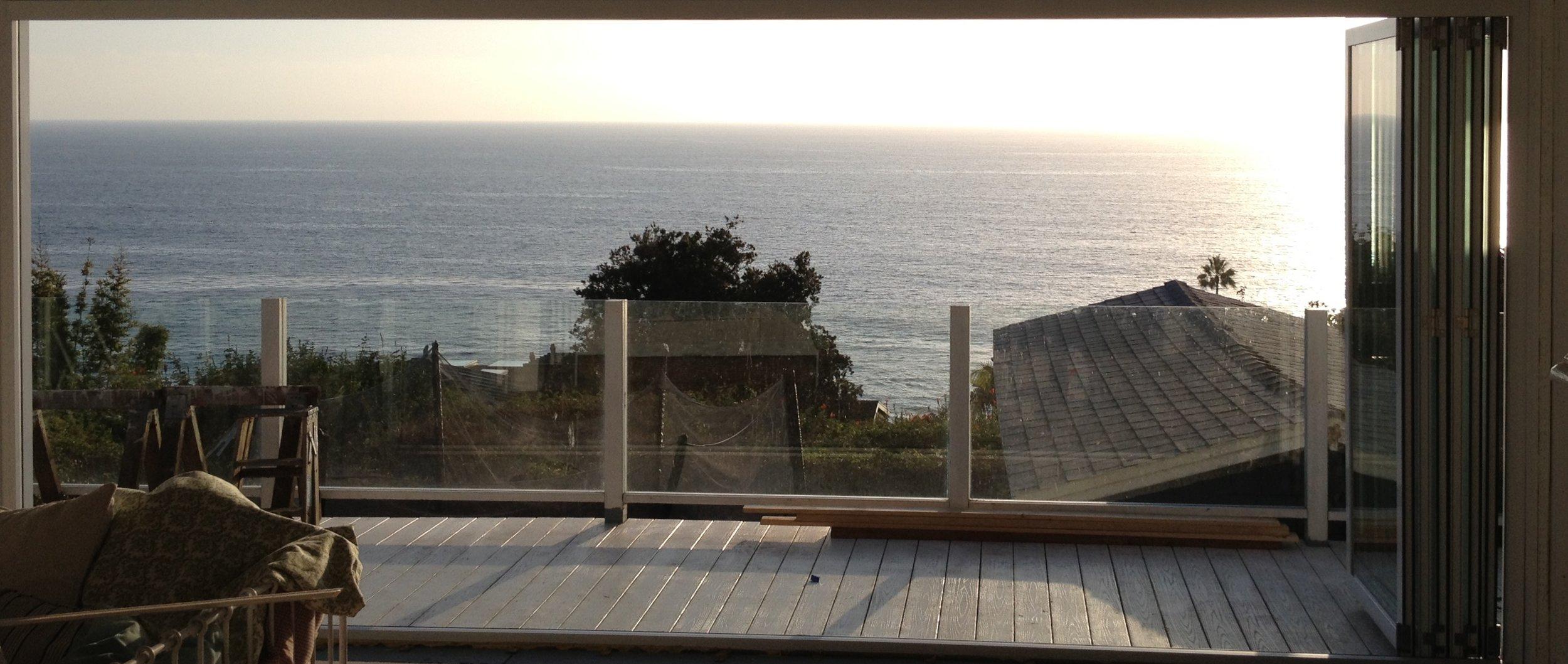 6 Panel LaCantina Folding Door - 9th Street, Laguna Beach, Ca.