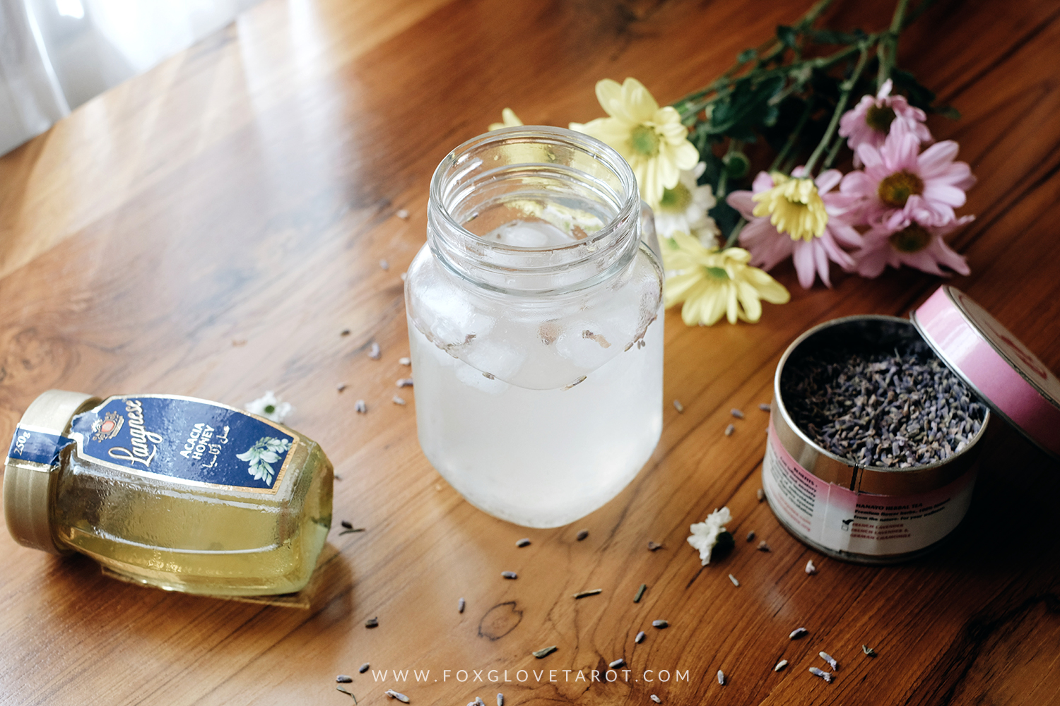 Honey Lavender Lemonade Recipe for Litha by Foxglove Tarot Bali (01)