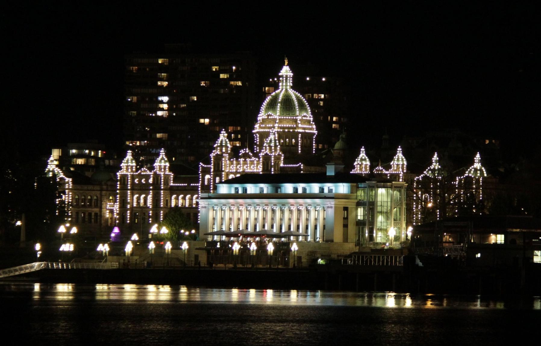 VICTORIA   The Royal BC Museum. Shops. Restaurants. Beacon Hill Park. Legislature Building.