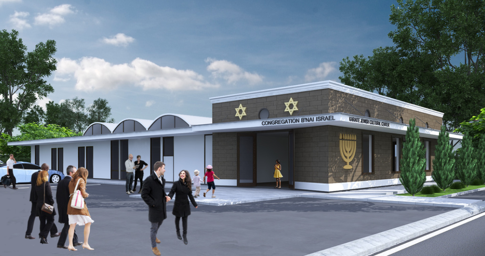 The future home of the   Karaite Jews of America  .