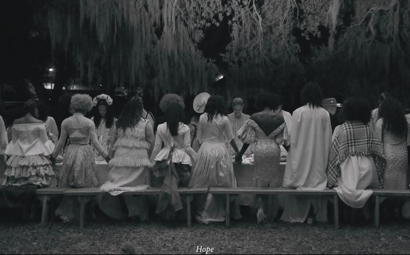 Real footage of Janelle Monae fans saying grace before taking their first sip of 'Dirty Computer.' Source: Should be self-evident. (Lemonade)