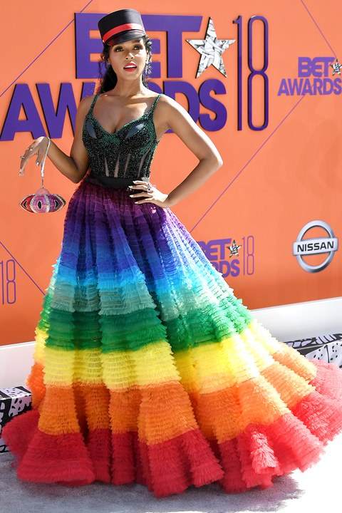Friend: The dress code is casual. Janelle: You mean casualties.?Category is - ROYGBIV could NEVA