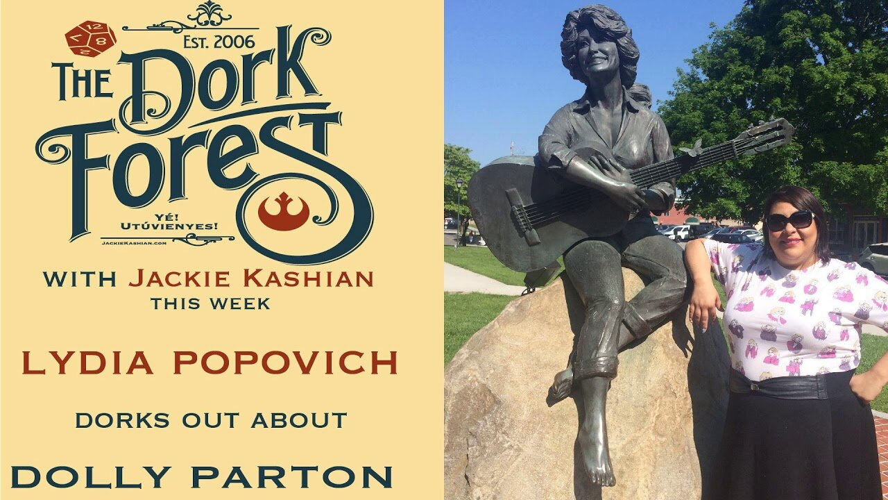 The Dork Forest - Jackie had me on to talk about the person who brings me the most joy, Dolly Parton. We chat about why she's a boss, why I'm obsessed and all the songs you need to hear.