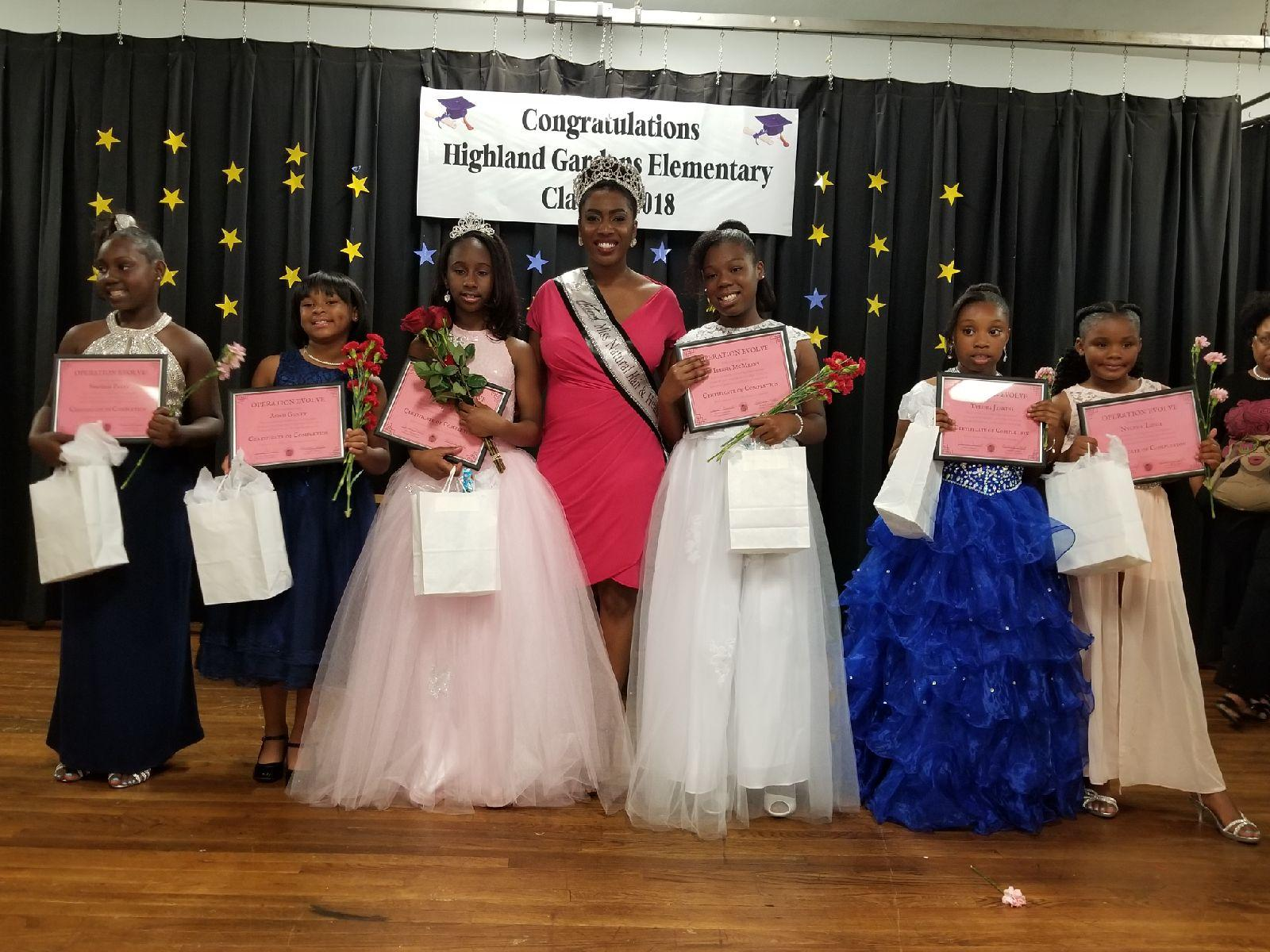 Little Miss Highland Gardens Pageant  May 2018