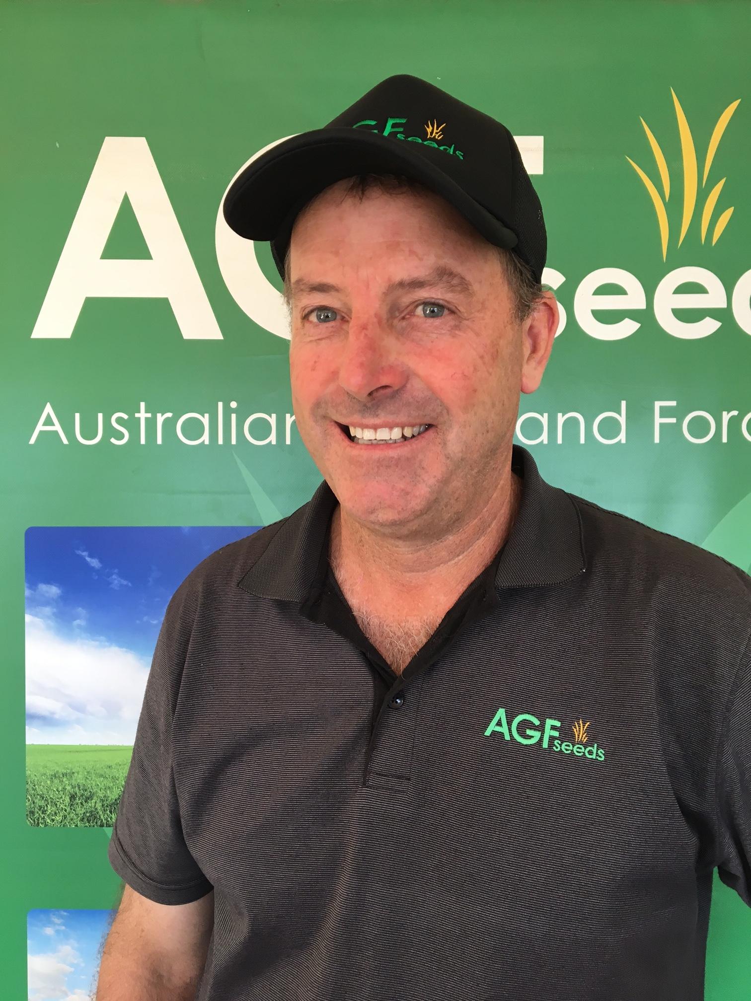 David Toose - Director   david.toose@agfseeds.com.au  0418 584 942