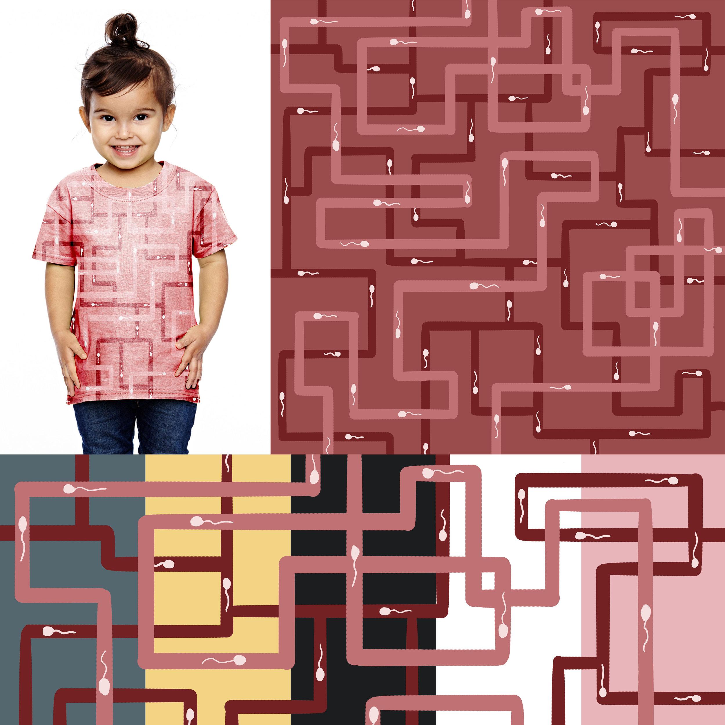Sperm Maze