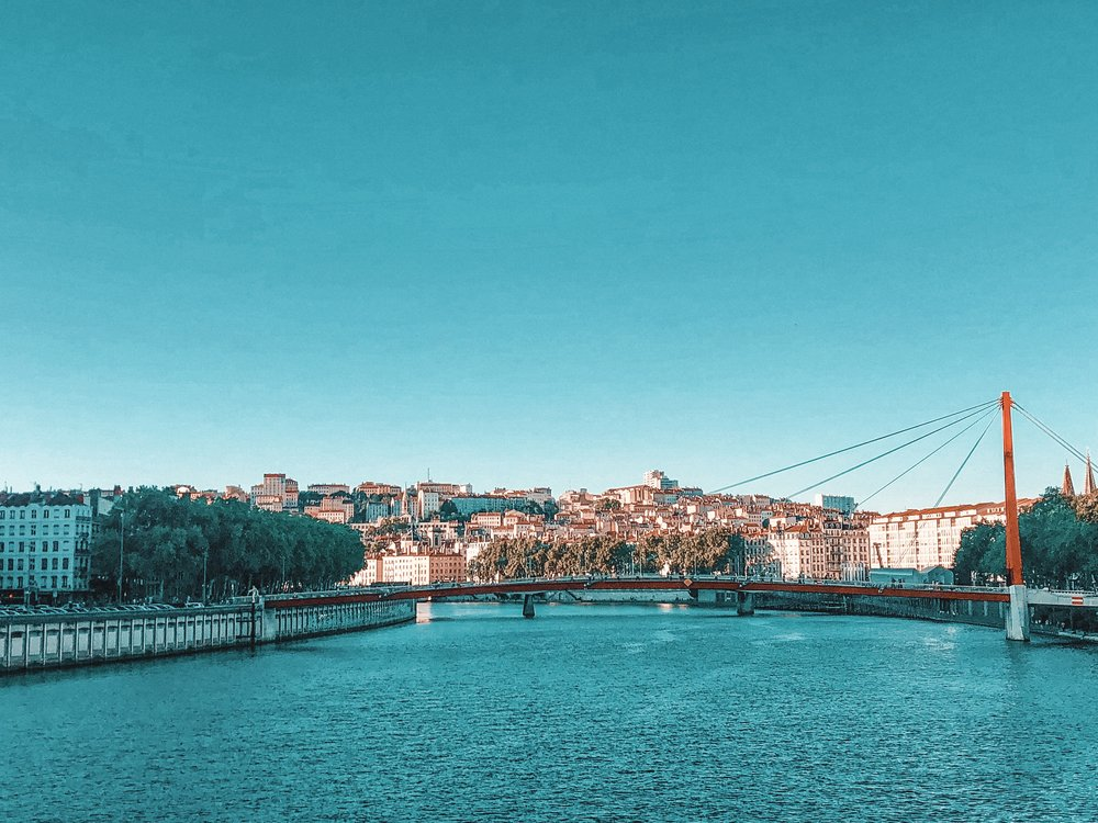 a piece from my travels in Lyon, France - EST Summer 2018