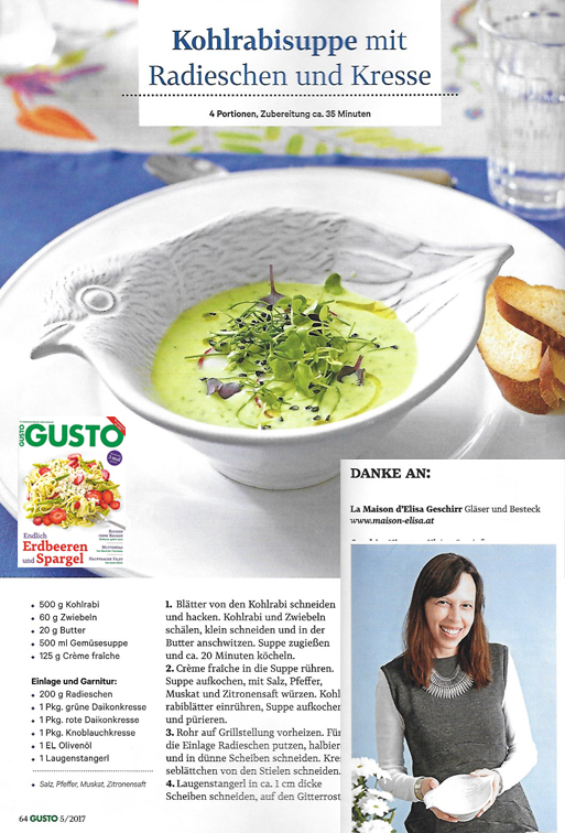 Gusto Magazin, 2017