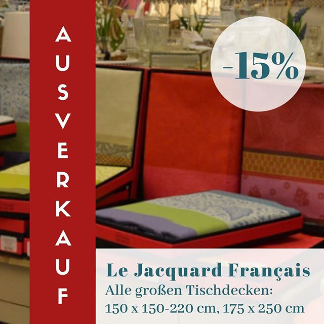 Für eure Sommer-Gartenparty - Le Jacquard francais Tischdecken nun endlich auch reduziert. Schnell zugreifen... #interiordesign #igersvienna #frenchstyle #interiorblogger #lejacquardfrancais #tabledecoration #frenchinteriorstyle #frenchtablecloths