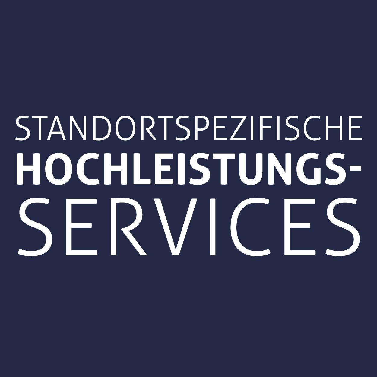 Standortspezifische hochleistungs-services