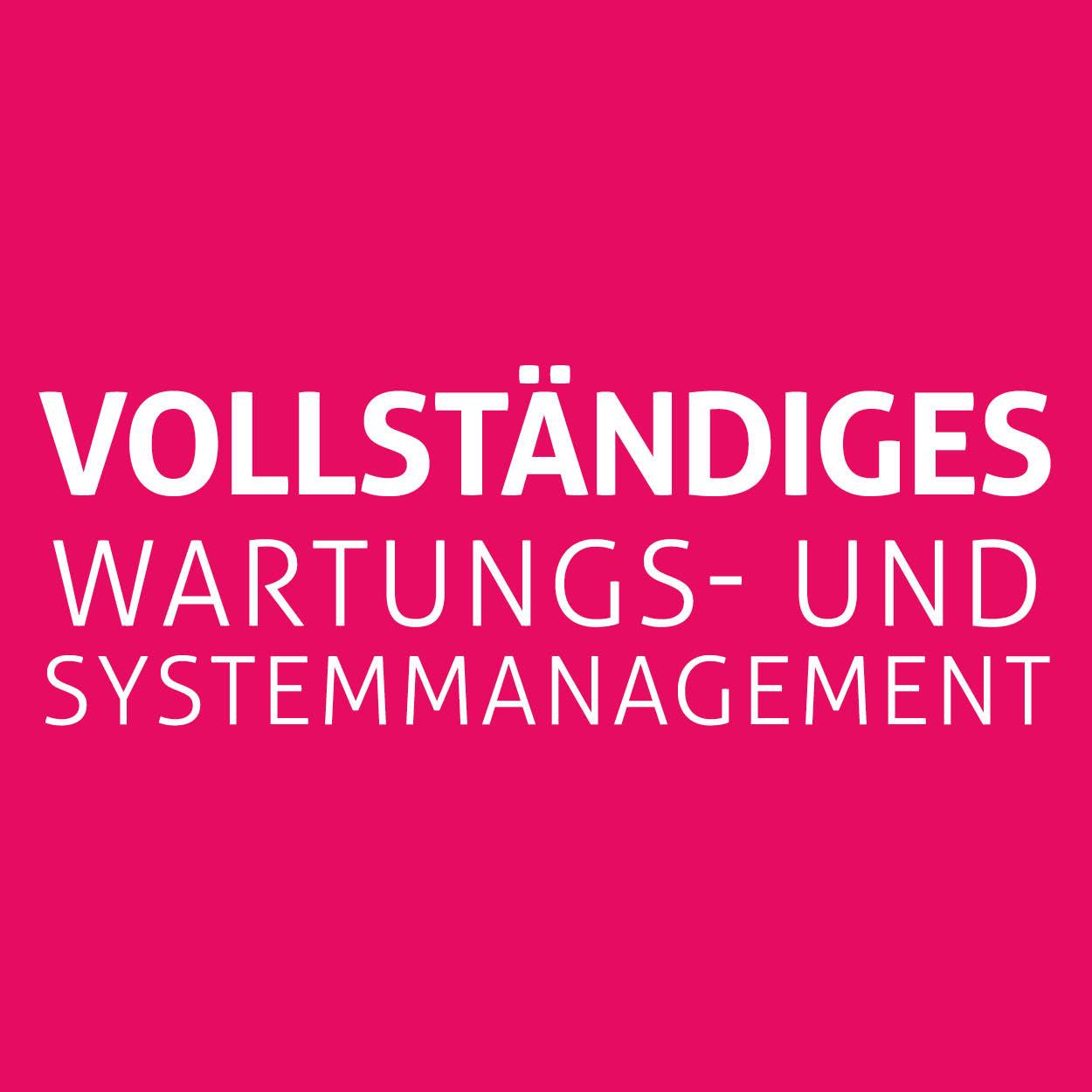 Vollständiges wartungs- und systemmanagement