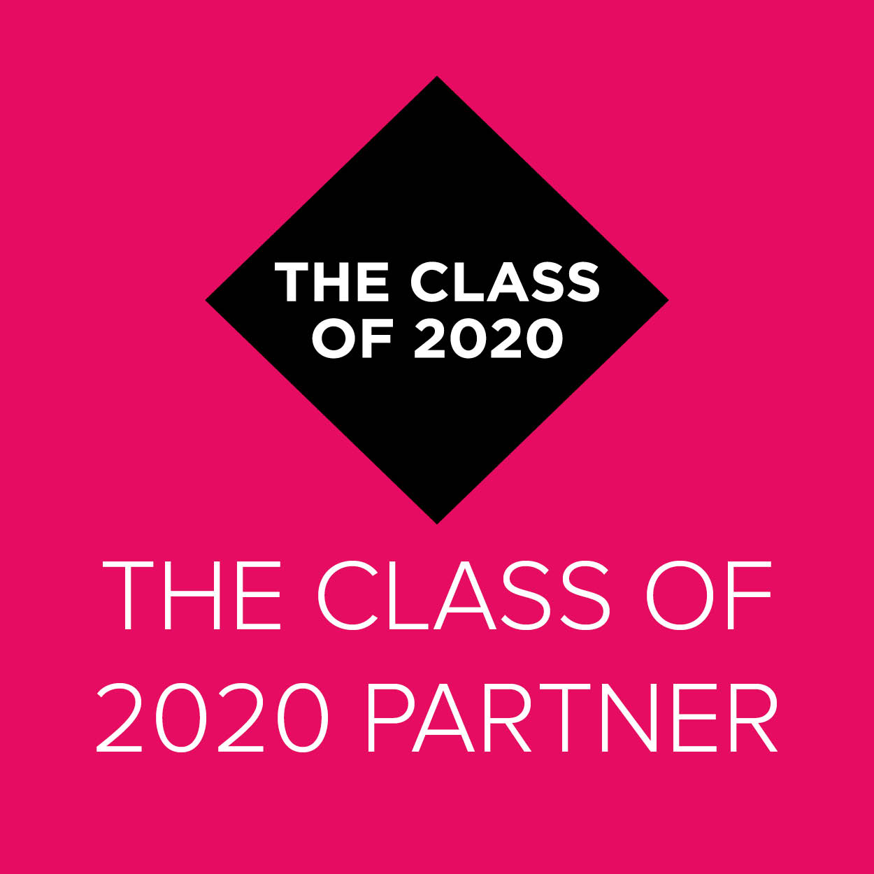 The Class of 2020 Partner
