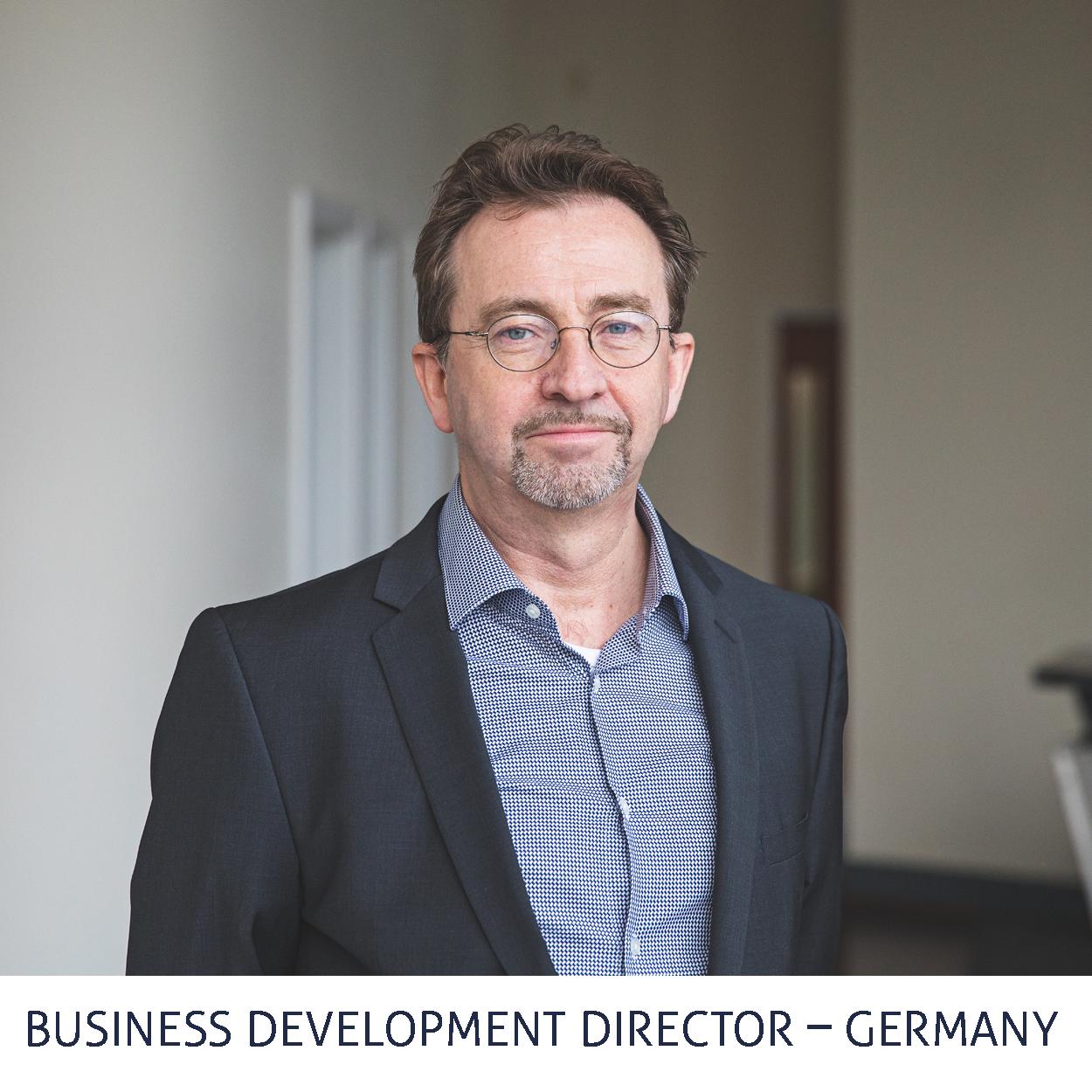 Patrick Cunningham, Business Development Director - Germany