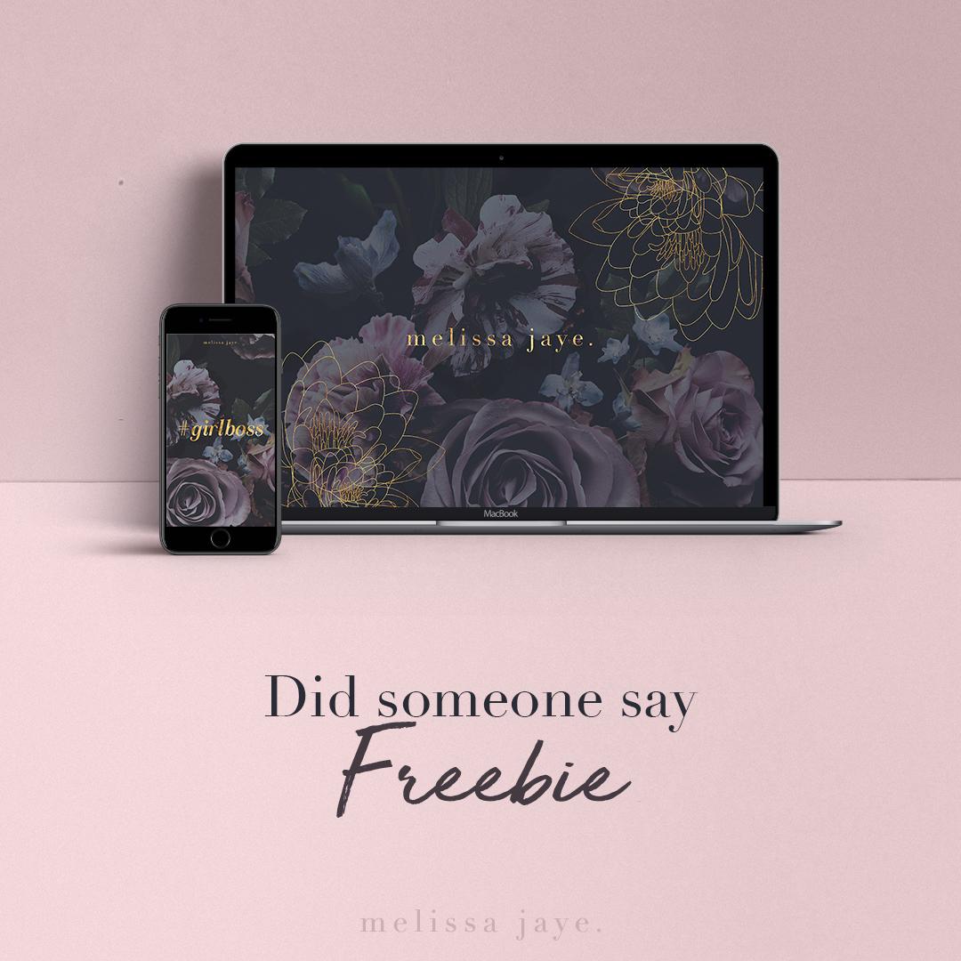 Freebie downloads