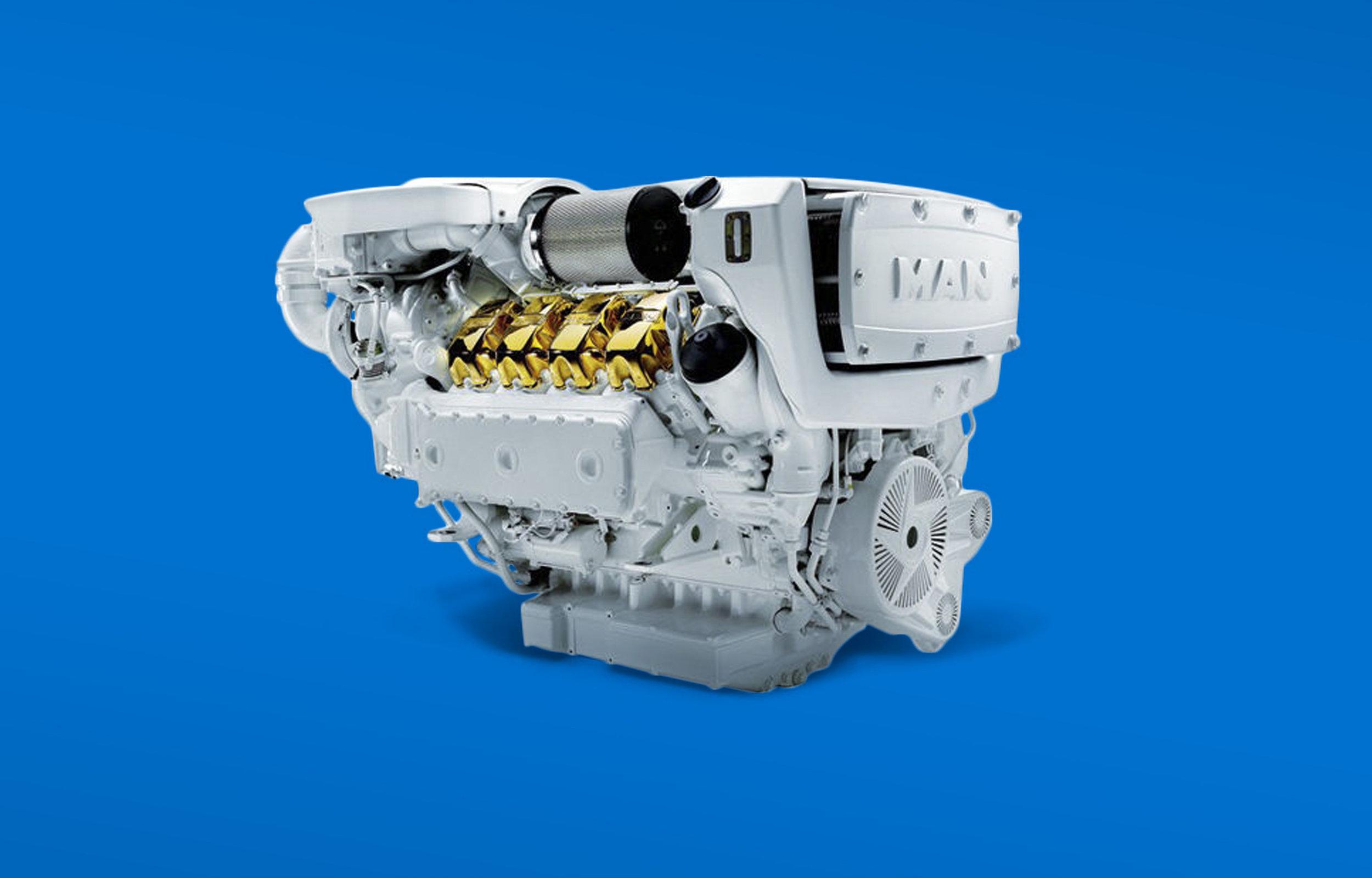 Copy of MAN V8 ENGINES