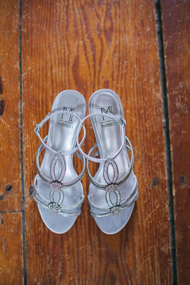 NH Wedding Photographer: bride's shoes