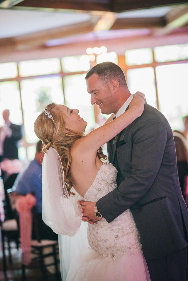 NH Wedding Photographer: first dance