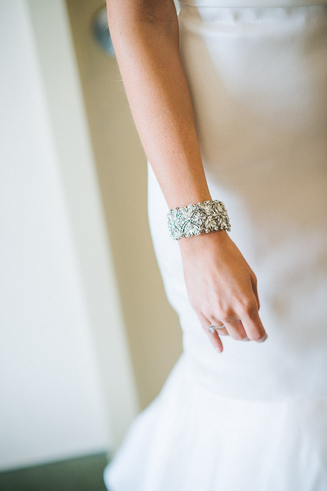 NH Wedding Photography: bride's bracelet